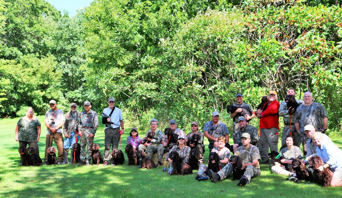 Fall 2016 gathering of Upper Midwest Boykin Spaniel Club